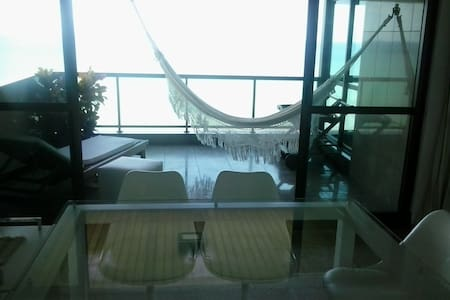 Wonderful Suite Ocean Front_Av. Boa Viagem, Recife - Apartemen