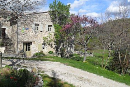 Gîte provençal Luberon - Buoux - Sovesal