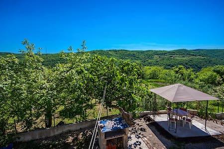 Monte Rudina in Central Istria - Motovun