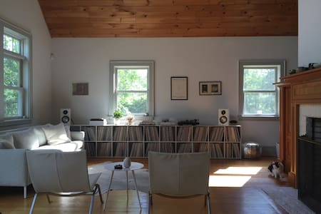Private Room at Wild Arc Farm in the Hudson Valley - Ev