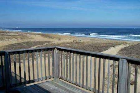 Spectacular oceanfront house - Seabrook - Casa