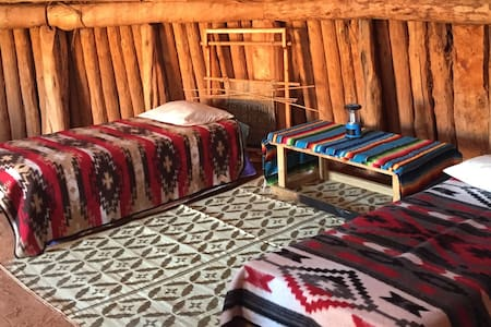 Navajo Hogan Accommodation - Earth House