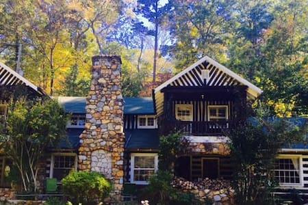 Lodge near Blueridge Parkway - Asheville - Cabaña
