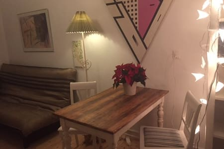 Very cosy single room close to station & shopping - Charlottenlund - Apartamento