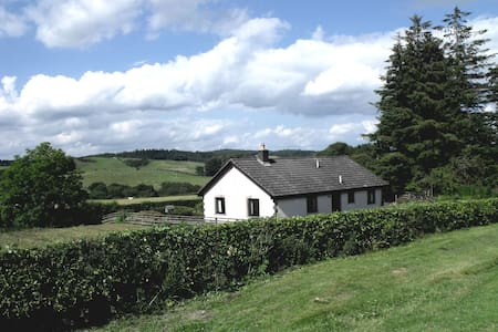 Dimpleknowe Holiday Cottage  own located& enclosed - Scottish Borders - Bungalo