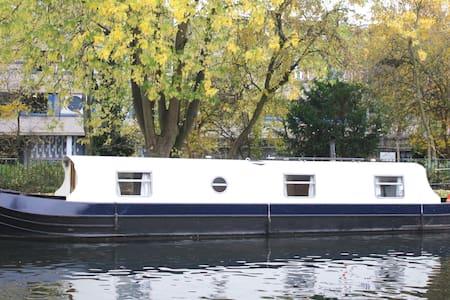Beautiful narrowboat near Portobello Market - London - Boat