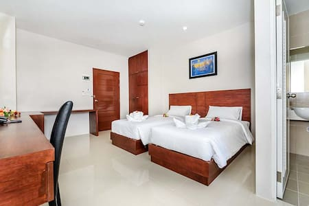 Clean and fresh room in Phuket town - Phuket - Apartment