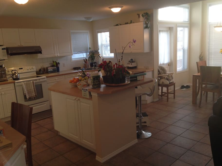 Full Kitchen with center island