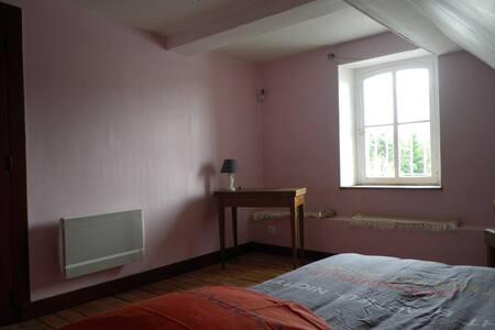 Chambre avec vue sur l'Yevre - Dom