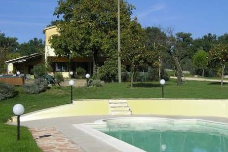 Casale panoramico con piscina - Otricoli - Villa