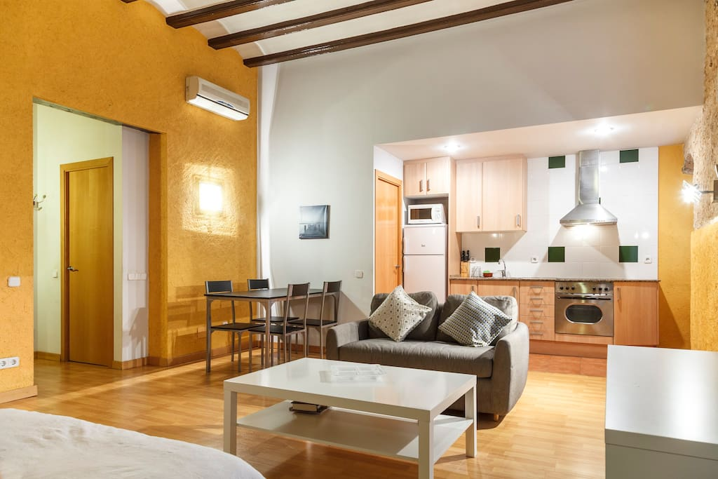 Amazing loft, totally renewed, in the Gotic area!