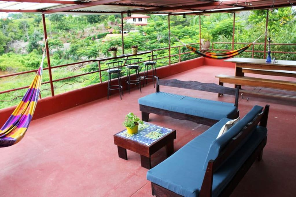 Main communal rooftop terrace