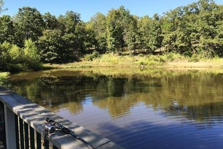 Private Lake Cabin in Pawhuska - Pawhuska - Cabana