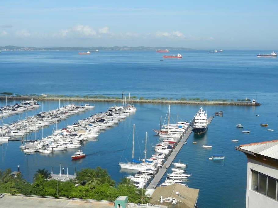 Views of Bahia Marina and All Saint's Bay
