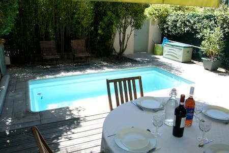 Maison/Aix-Village/4 pers/Piscine/  - House