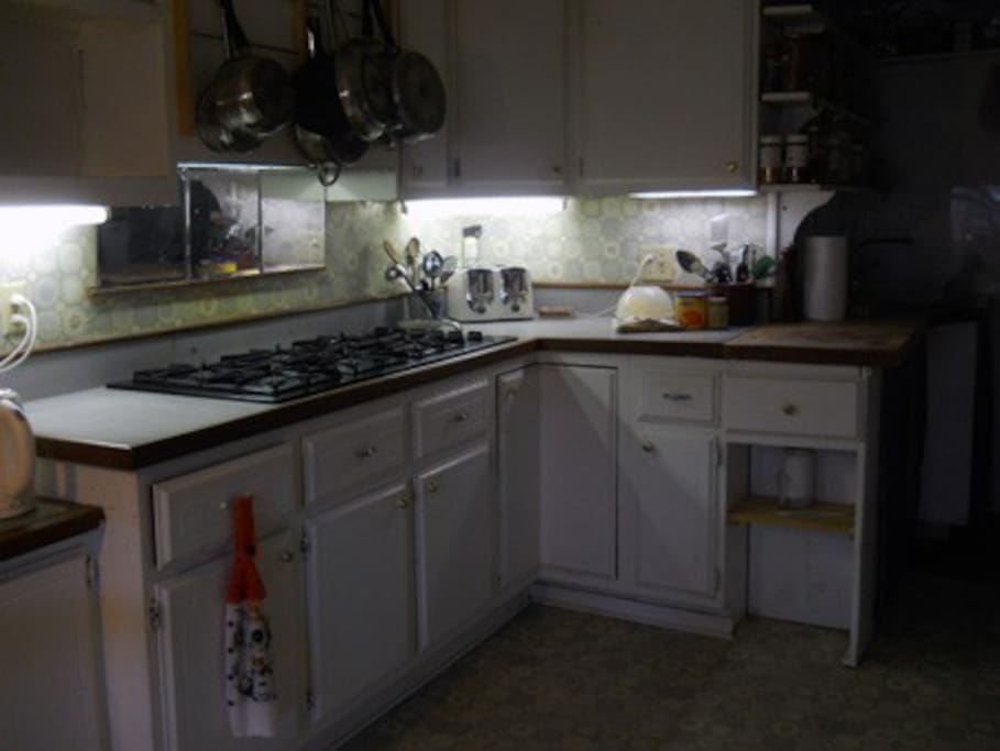 You can use our fully-equipped kitchen to prepare your own meals, or eat out at one of several local eateries.