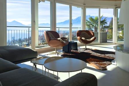 Villa Bella Vista; luxury in Minusio Lago Maggiore - Minusio - Villa