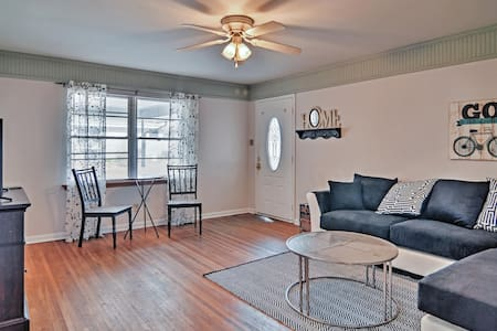 Cheerful 2BR Jacksonville Duplex - Lägenhet