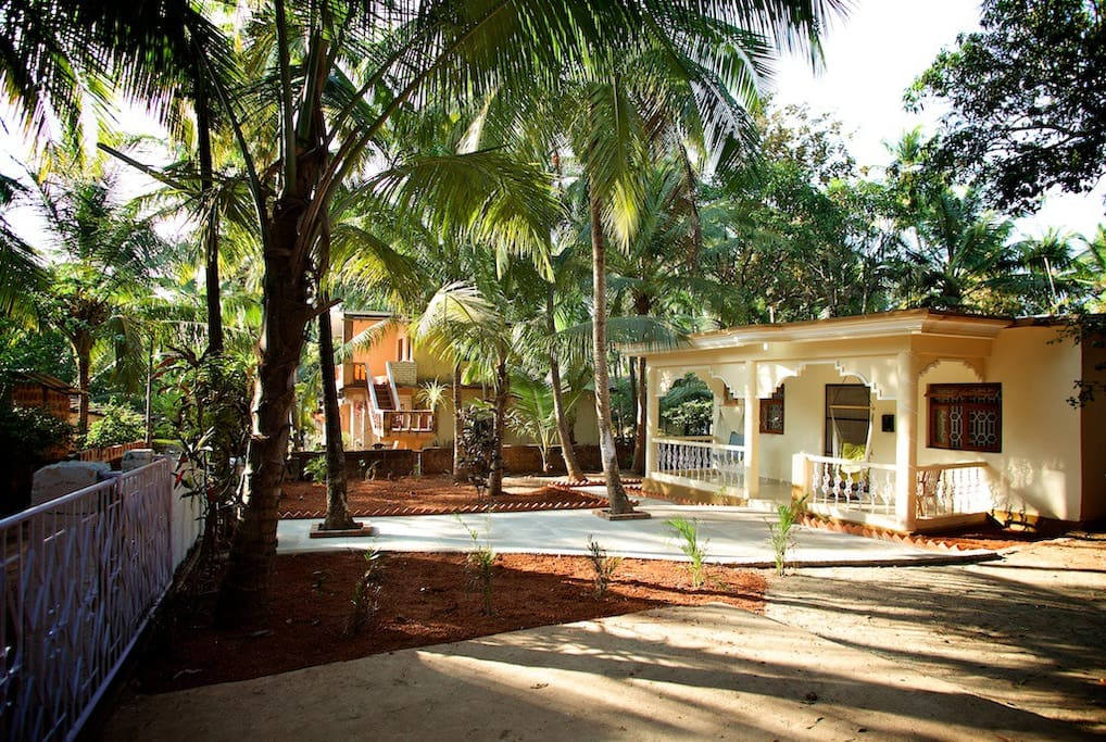 Tembe Wada Holiday Villa - near Palolem & Patnem beaches south Goa