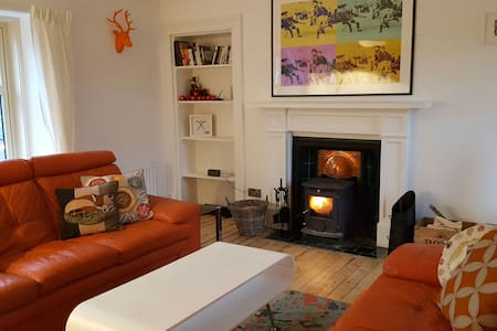 Caman House - Spacious 2 bedroom apt, Cairngorms. - Newtonmore