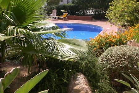 The apartment with a large terrace is located in a beautiful area with Mediterranean landscaped garden facing the marina of Santa Ponsa with direct access to the port. It consists of a living room with American kitchen, double bedroom and a bathroom