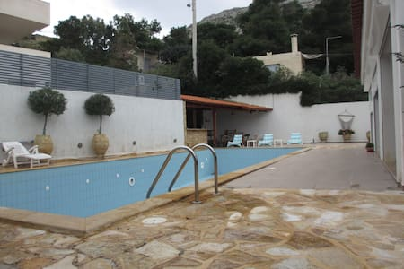 Wonderful Villa with swimming pool - Palaia Fokaia,  T.K.19013 - Villa