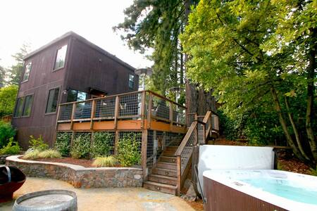 Summerwood,HotTub,Winecountry,Deck! (Sonoma Select) - 단독주택