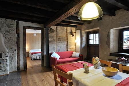 Typical house in Dolomites, Birot1 - Apartment