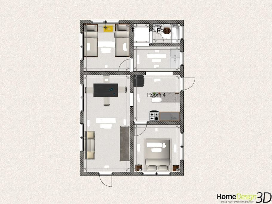 Floor Plan (not to scale)