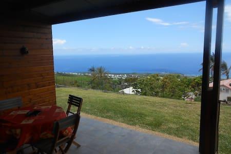 Saint-Leu F2 vue panoramique océan - Lakás