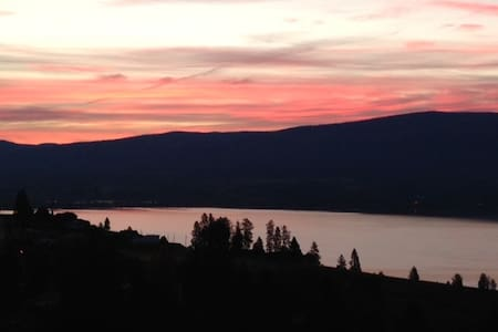 Wine trail 1 bedroom view suite - West Kelowna