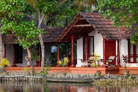 Backwater Facing Rooms - Hut