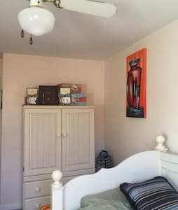 Cozy single room, near airport - Glenolden - Haus