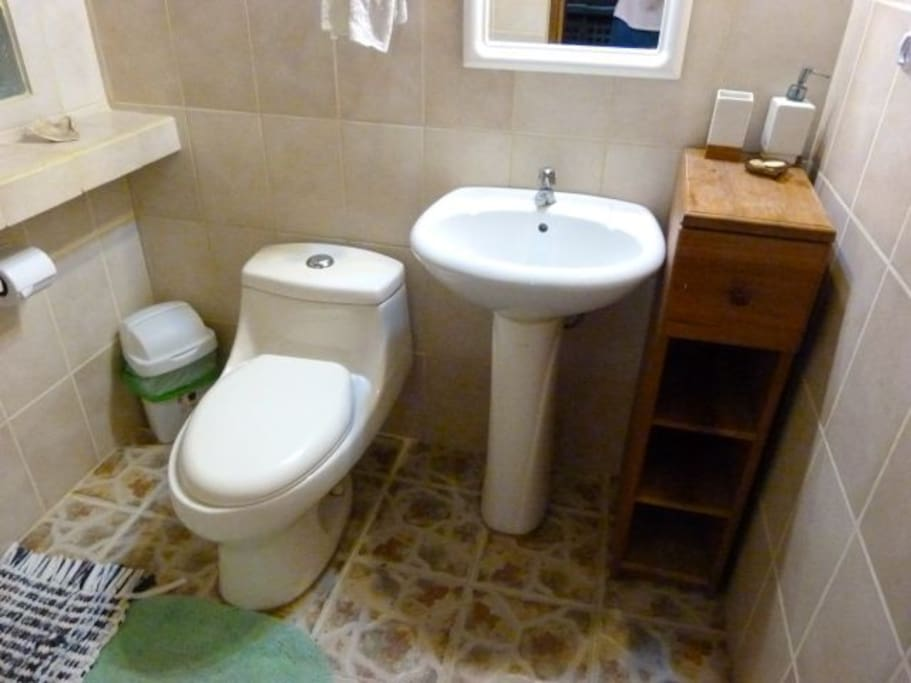 Two-Bedroom Casita Bathroom
