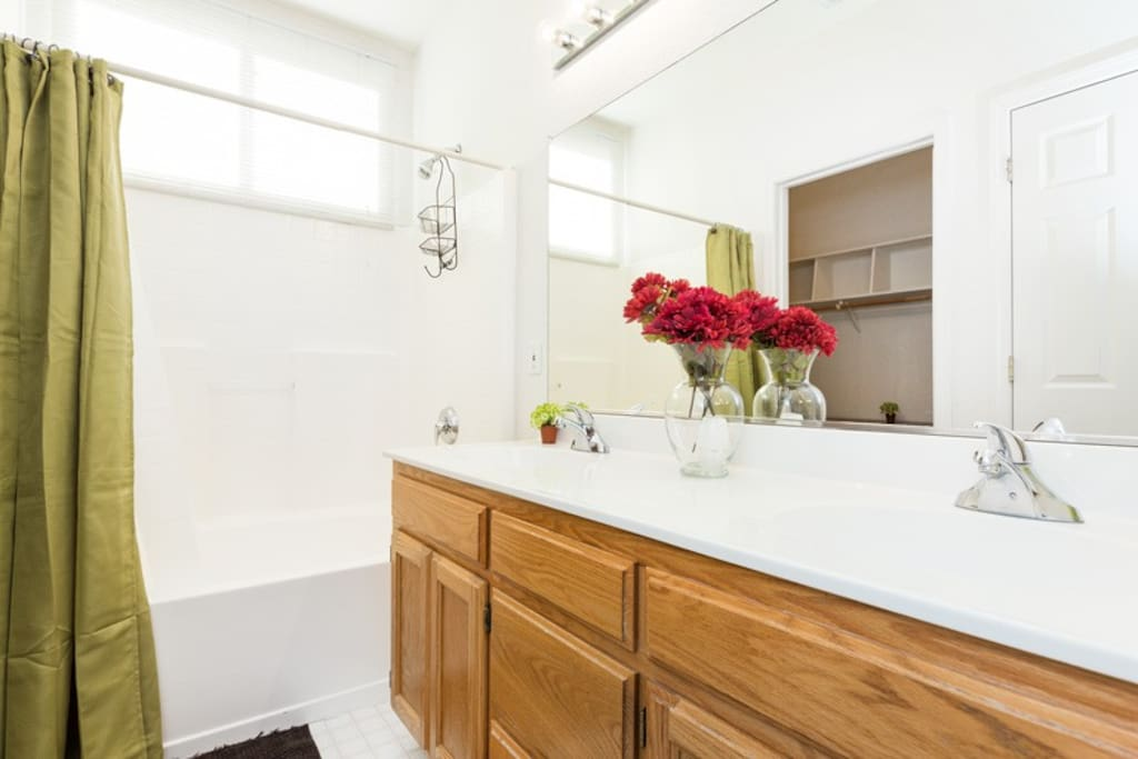 Large full size bathroom