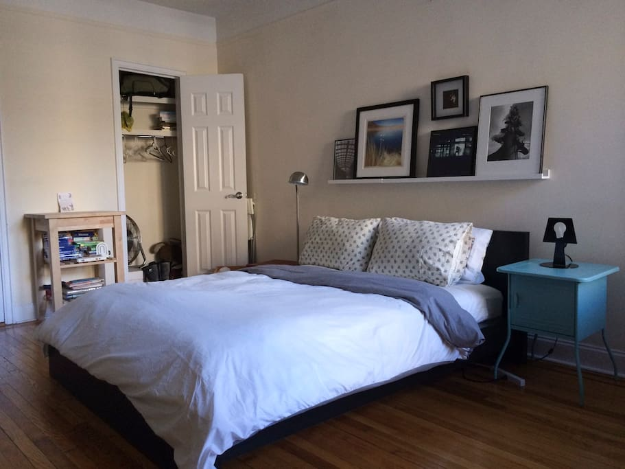 Master Bedroom, Great NYC Basecamp