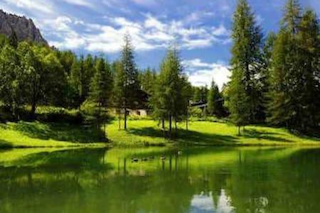 Chalet immerso nel verde ideale per il relax - Cortina d'Ampezzo - Bungalo