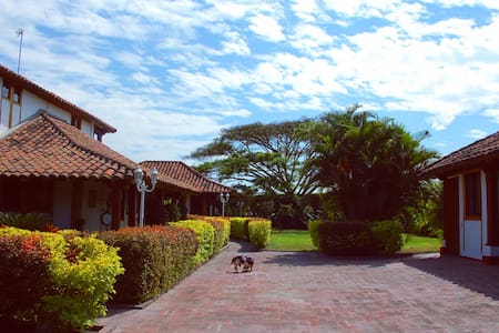 Finca Mateguadua en Rozo Colombia. - Palmira