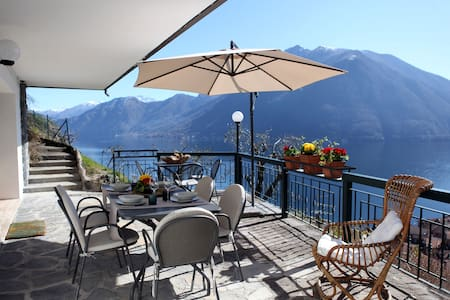 Villa with amazing view on the Lake - Argegno