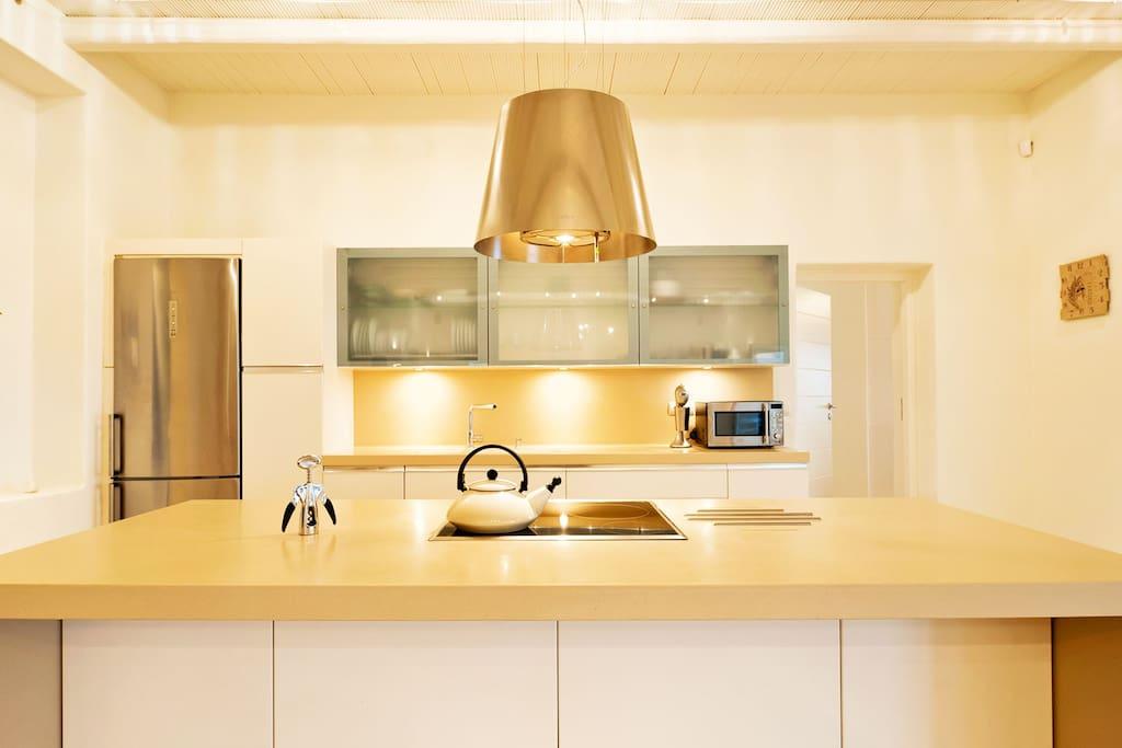 Kitchen | Athina Ios Villa | Luxury Villa in Ios Island