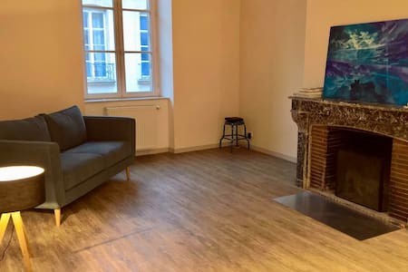 Beautiful double BD with private bathroom ! - Dijon - Appartement