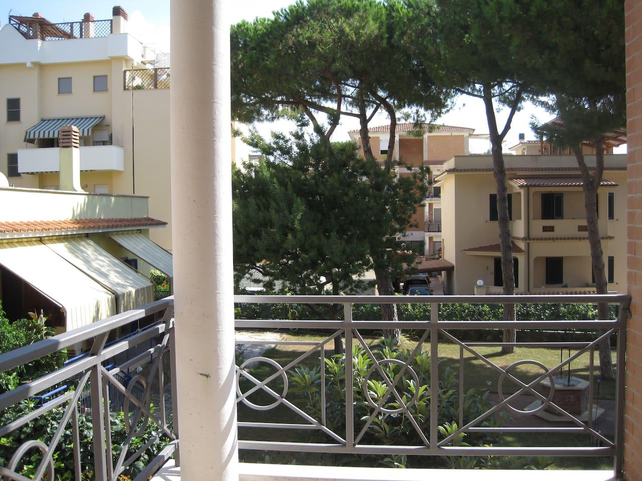 beach house near Rome