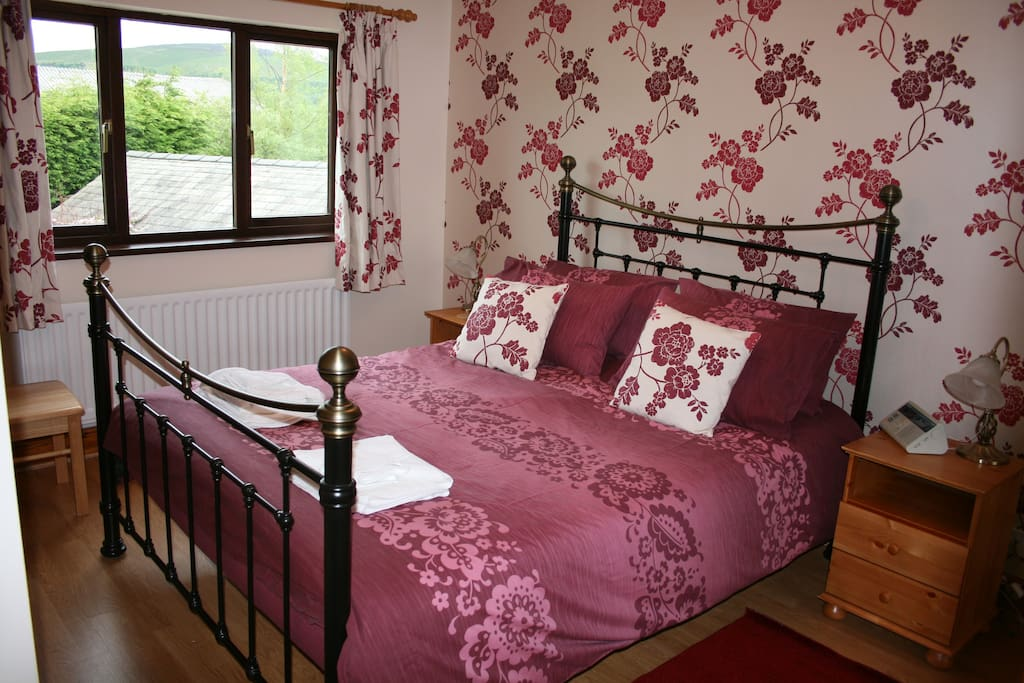 Master bedroom has king size bed and en-suite