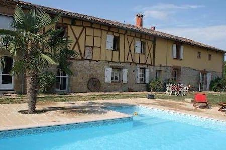 Gites avec piscine, Spa et Sauna - Haus