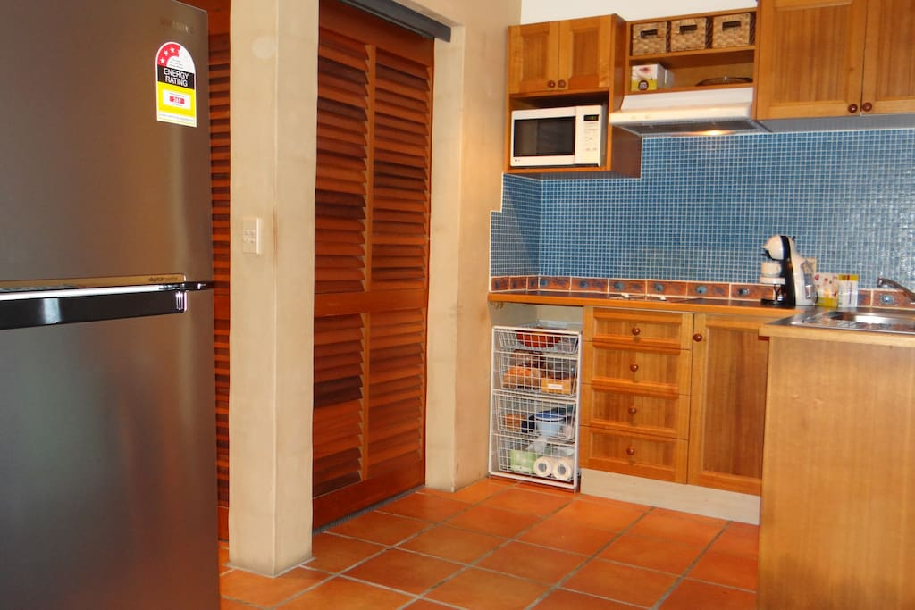 Kitchen fully self contained New Large Stainless Fridge with freezer has arrived early 2014 make catering needs and shopping easy