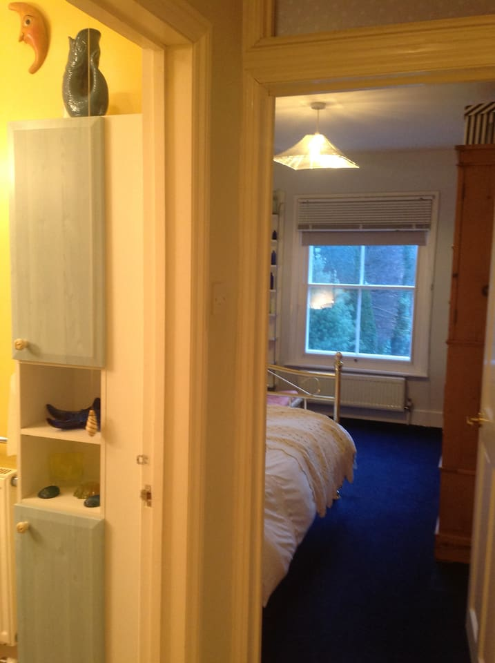 NIce size private and quiet bedroom and close to  guest bathroom
