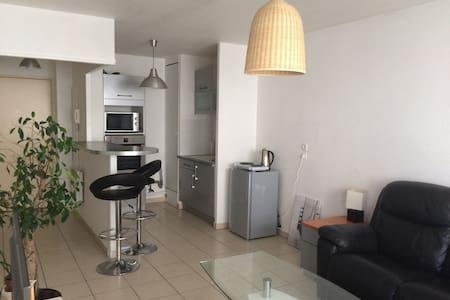 Bel appartement clair propre calme - Apartament
