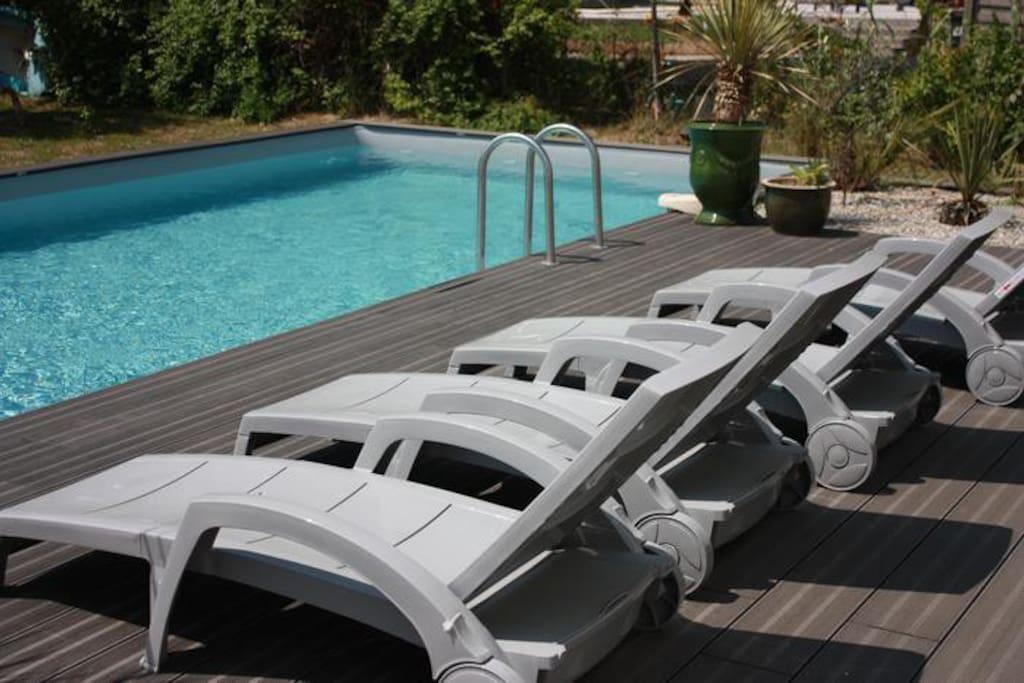 villa cap d agde avec spa et piscin