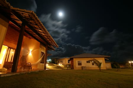 Chalet with seaveiw and roof terras - Natal - Casa