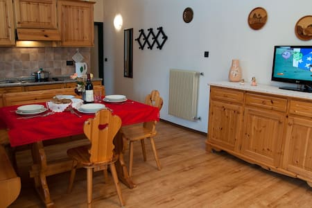 Center Val di Fassa Dolomites for 2-4 persons. BO - Pera - Huoneisto